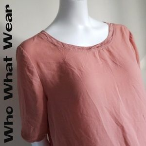 Who What Wear Top / Blouse - Size Medium
